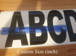 Letter (inch) Custom Size (single)